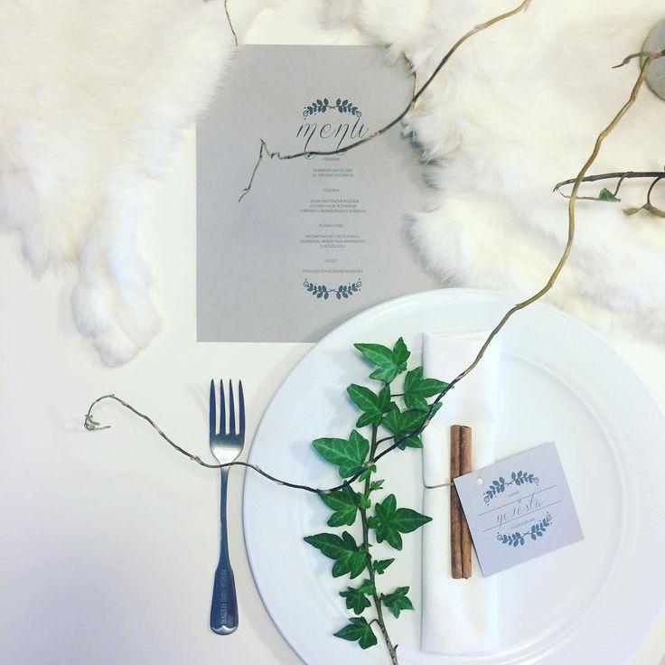 Zimní svatba! #svatbadesign #svatebni #vyzdoba #menu #jmenovky #graphic #design #svatba #weddingdecoration #wedding #menu #namecards #weddingmenu #winterwedding #zimnisvatba