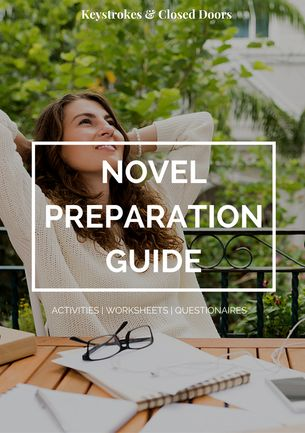 Not sure how to start a novel? I have included everything you need in my free Novel Preparation Guide!
