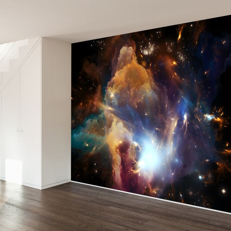 """I need this at home - """"In The Dawn of the Cosmos Wall Mural Decal"""""""