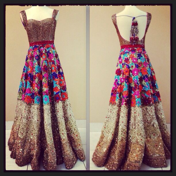 Bridal Anarkali by MischB Couture