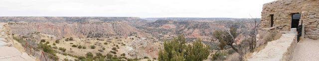 Palo Duro Canyon State Park, Canyon, Texas Panoramic pic