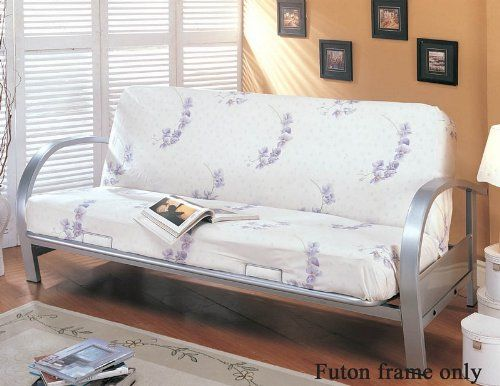 Special Offers - Coaster Home Furnishings Transitional Futon Frame Silver - In stock & Free Shipping. You can save more money! Check It (April 30 2016 at 11:21AM) >> http://sectionalsofasxl.net/coaster-home-furnishings-transitional-futon-frame-silver/