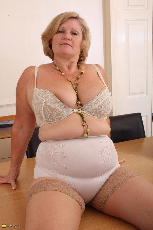 Have hit Mature bbw girdle and stockings casual