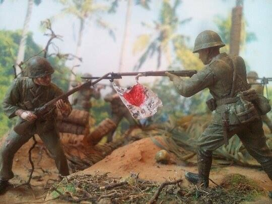 Marines! USMC vs. SNLF. Tarawa Test Shot 04