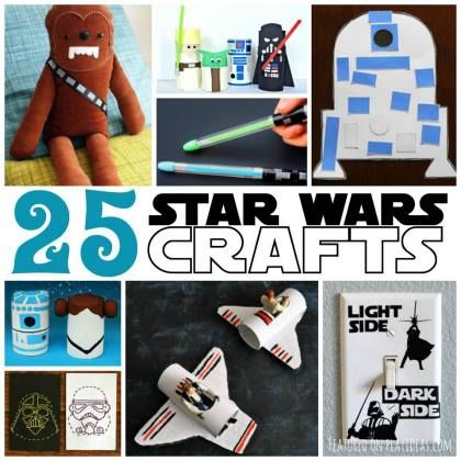 25 out of this world star wars crafts for kids kids for Star wars arts and crafts