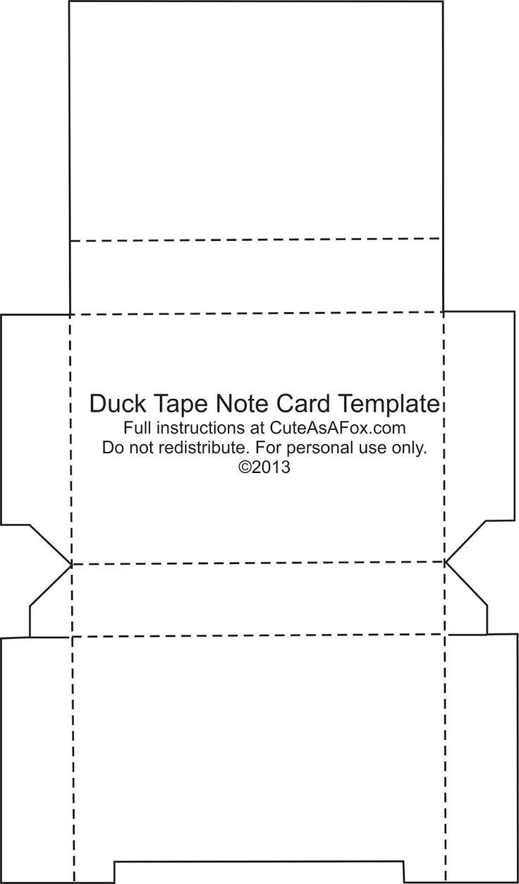 duck tape u00ae flash card holder