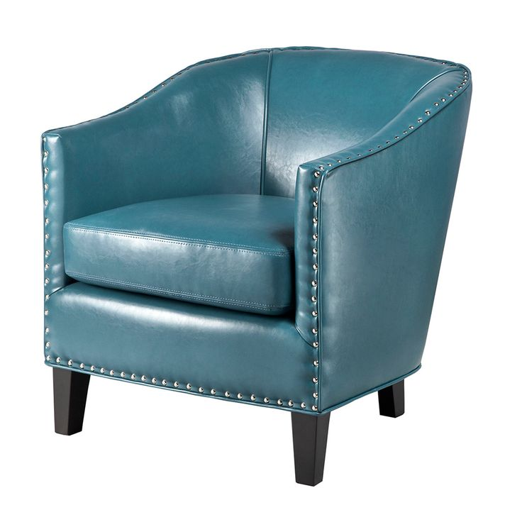 Madison Park Fremont Arm Chair   AllModern99 best chairs images on Pinterest   Accent chairs  Living room  . Aqua Leather Accent Chair. Home Design Ideas