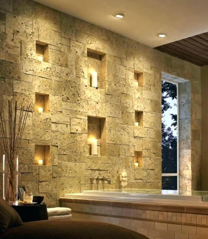 Fake Interior Stone Accent Wall Faux Stone Wall Karabukhaber