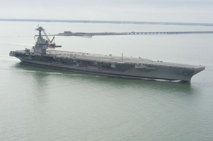 Touring the future USS Gerald R. Ford | WAVY-TV