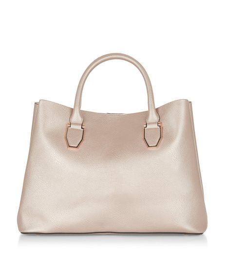 Metallic Tote Bag from New Look £22,99