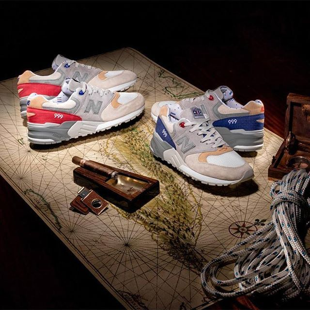 Dropping this weekend at @ComplexCon: @Cncpts x New Balance Made in USA 999 'Hyannis' and previously unreleased 'Cubano.' via SNEAKER FREAKER MAGAZINE OFFICIAL INSTAGRAM - Fashion  Advertising  Culture  Beauty  Editorial Photography  Magazine Covers  Supermodels  Runway Models
