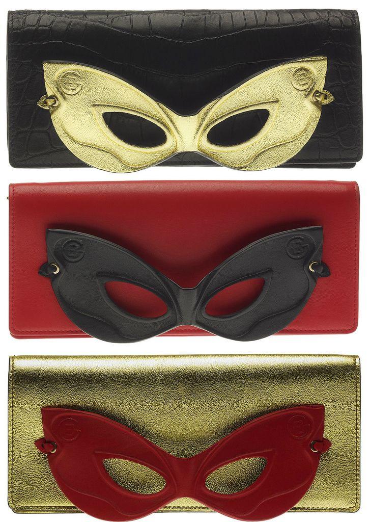 Carnival Party: le clutch maschera di Elena Ghisellini -  Siamo in pieno periodo di Carnevale e se volete essere originalissime per una festa a tema io se fossi in voi questa volta la maschera la userei non...