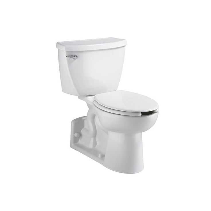 American Standard 2878.100 FloWise 1.1 GPF Elongated Two-Piece Toilet with Press