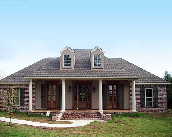 124 best acadian style house plans images on pinterest French acadian homes