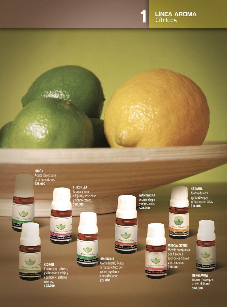 Los productos elaborados con aceites esenciales cítricos clarifican la mente, su acción energizante levanta el ánimo, ideal para momentos de angustia y depresión. En estética se usan en masajes de reducción y drenaje