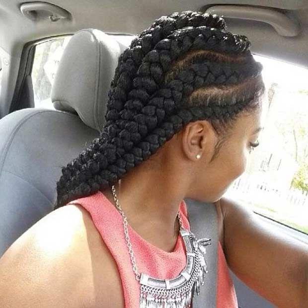 51 Best Ghana Braids Hairstyles Stayglam Hairstyles