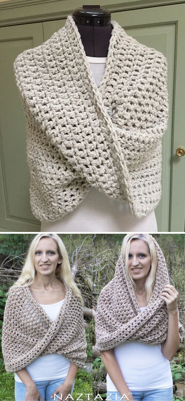 Easy Crochet Infinity Scarves