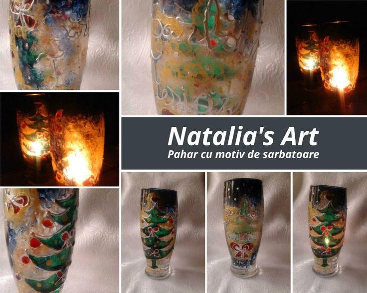 Pictura pe cani din ceramica si sticla personalizate.( vaze, candele, servicii de masa, sticle de sampanie sau vin)