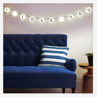 Buy Scrabble Light at Argos.co.uk - Your Online Shop for Novelty lighting, Novelty lights.
