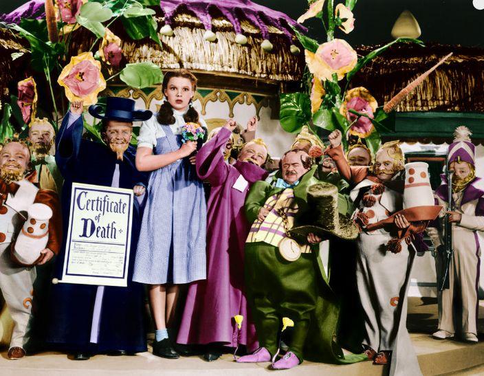 Behind The Scenes Of 'Wizard Of Oz'