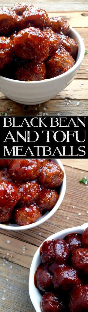 Black Bean and Tofu Meatballs 2
