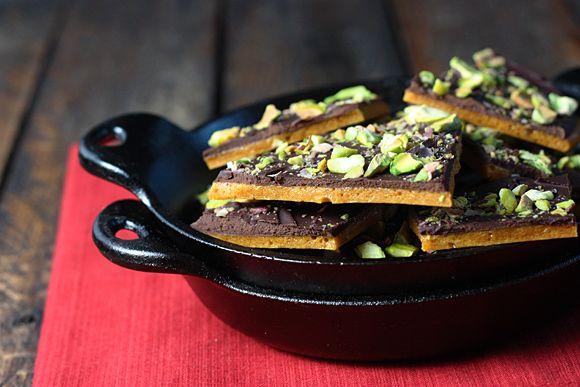 Dark Chocolate Pistachio Brittle | Recipe | Pistachios, Dark and ...