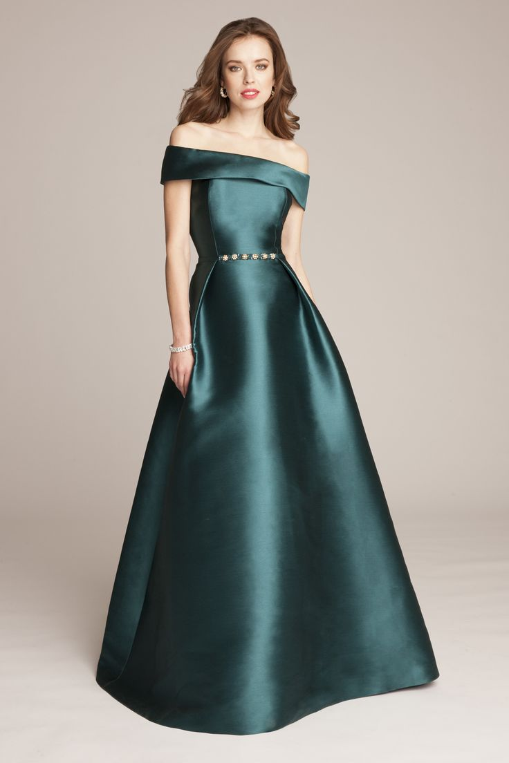 A collection of green mother of the bride dresses