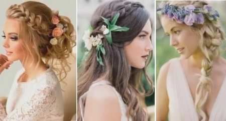 Свадебные модные прически для невест 2017 » Прически / видео, как сделать прическу!