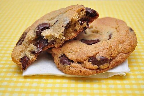 Chocolate Chip Cookies : la Ricetta Originale dei Cookies Americani - Blog Cibo Americano : Ricette Americani e Cultura Americana