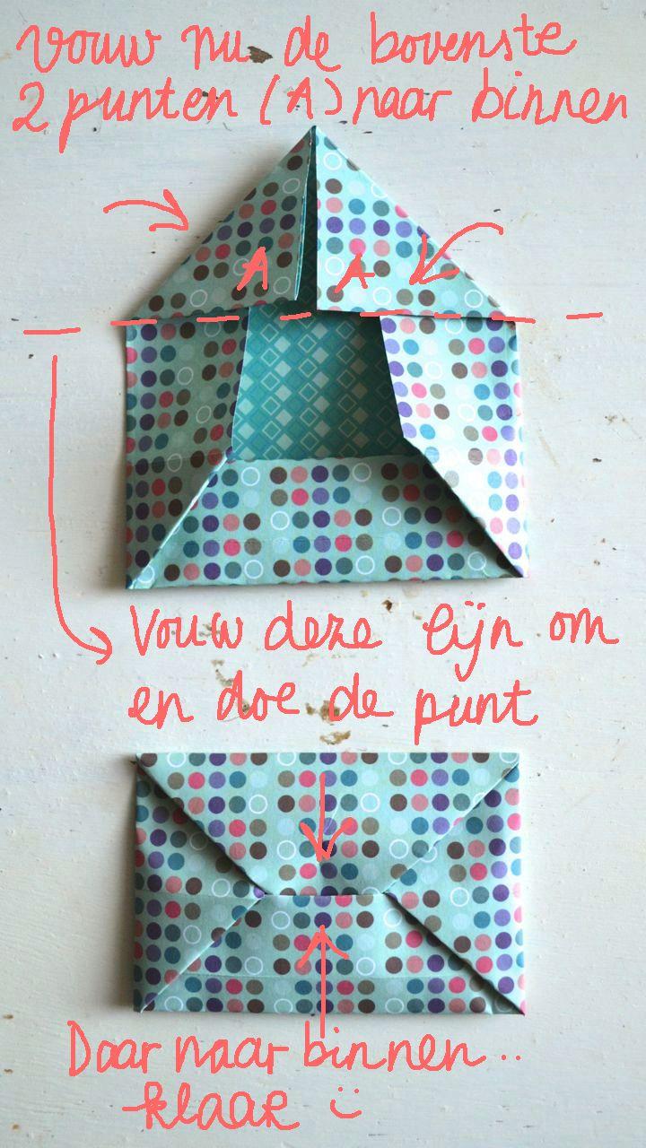 Sobres de origami (via Bloglovin.com )