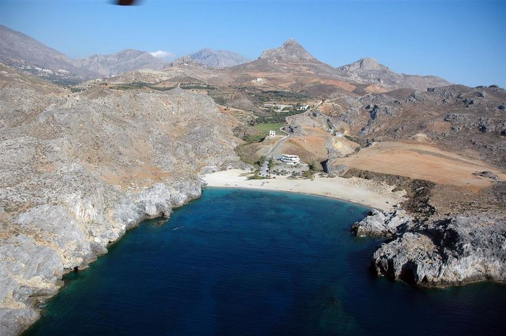 Sxinaria beach at southern Rethymno...sea, sun and sky!