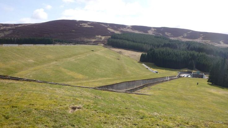 Water from this reservoir is supplying towns and villages in Angus, Perth & Kinross and Dundee