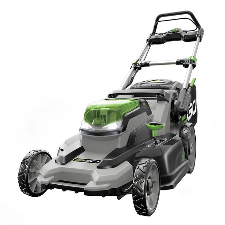 20 Inch 56 Volt Lithium-Ion Cordless Lawn Mower with 5.0 Ah Battery