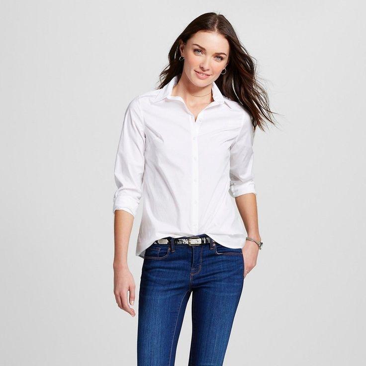 Women's Collared Button Down Shirt