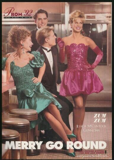 Chase 7 prom dresses 90s