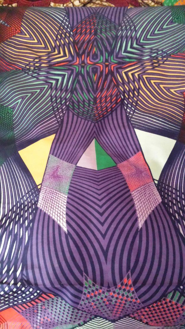 Stoff afrikanisch - Afrikanische STOFFE - ein Designerstück von Nafula-Lilian bei DaWanda