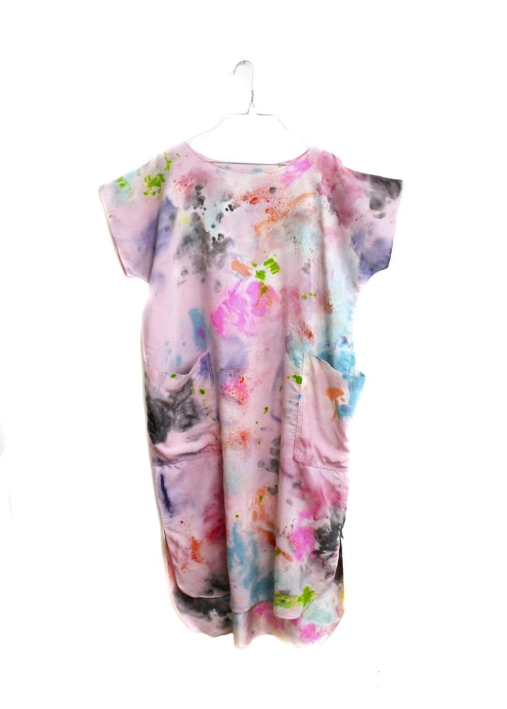 Silk Casa Dress / Painted Quartz