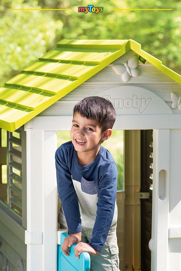Pretty Haus Mit Sommerkuche Smoby In 2020 Spielhaus Haus Wohnungsdekoration