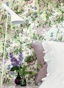 Tapete Klöver - Florale Mustertapete von Boras