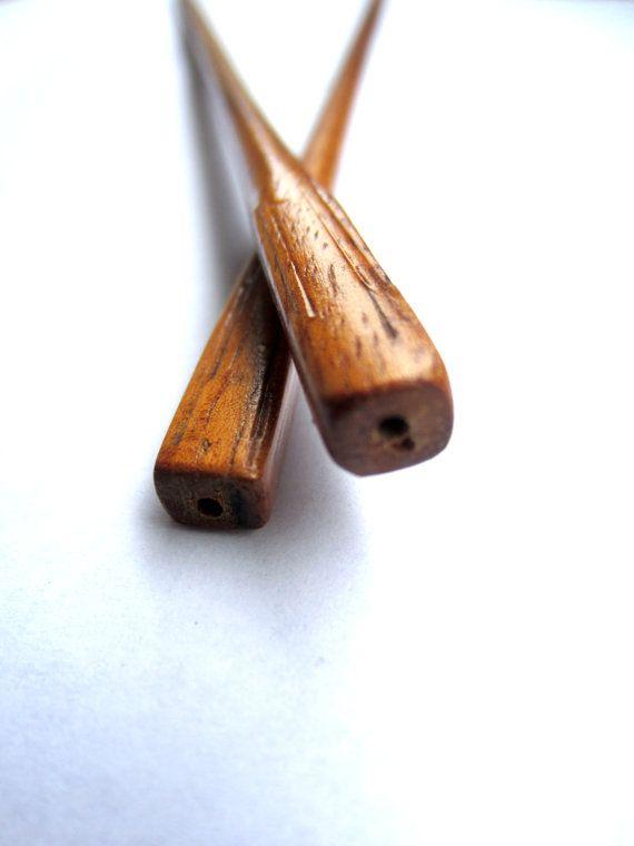 Koa Wood Knitting Needles Acacia Koa Tree Made to by imaginecian, $25.00