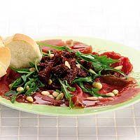 Recept - Carpaccio met balsamicodressing - Allerhande