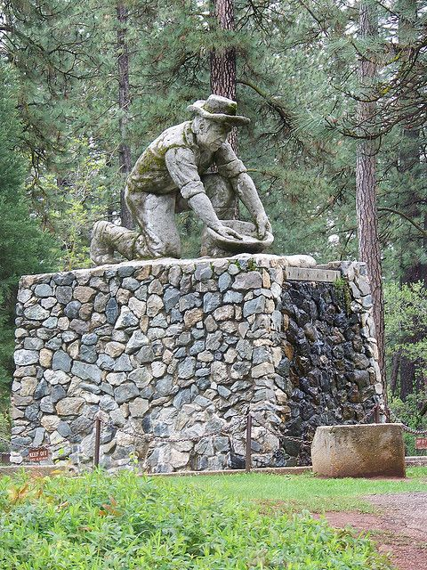 This was my favorite place to walk to as a kid when we visited Grandma in Grass Valley, Ca.written by previous pinner.