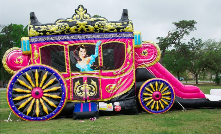Princess Carriage Moonwalk Rental