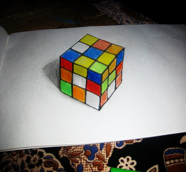 17 Best Images About 3D Drawings And Paintings On