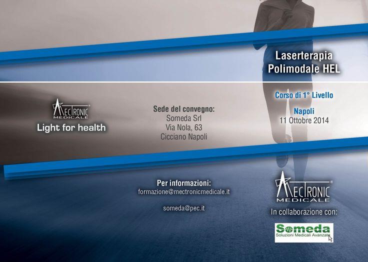 #MectronicMedicale in collaborazione con Someda vi da appuntamento per: Sabato 11 Ottobre 2014
