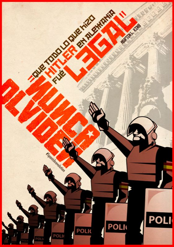 Carteles #Spanishrevolution on Behance