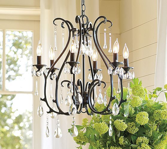Pottery Barn Isabelle Chandelier: 17 Best Images About Pottery Barn On Pinterest