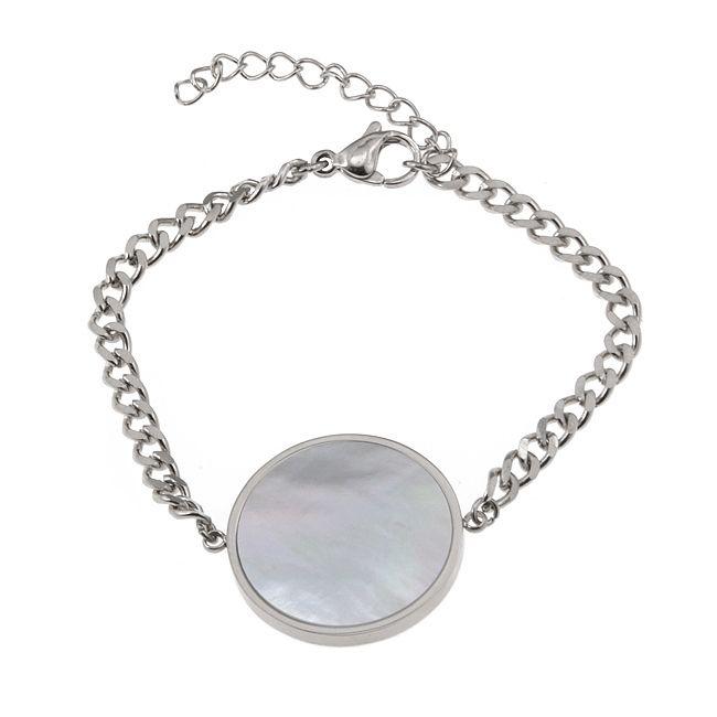 Ingnell Jewellery - Milla bracelet steel. Stainless steel. ingnelljewellery.com