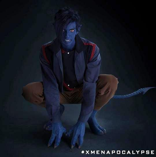 First Look at New Nightcrawler in 'X-Men: Apocalypse' Has Been Revealed!!! The Fuzzy Dude is back!!!