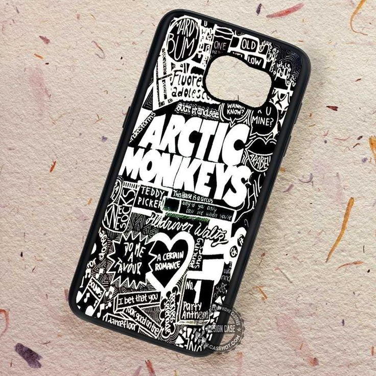 Collage Art Lyric Arctic Monkeys - Samsung Galaxy S7 S6 S5 Note 7 Cases & Covers